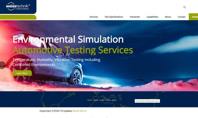Weiss Technik Testing Services
